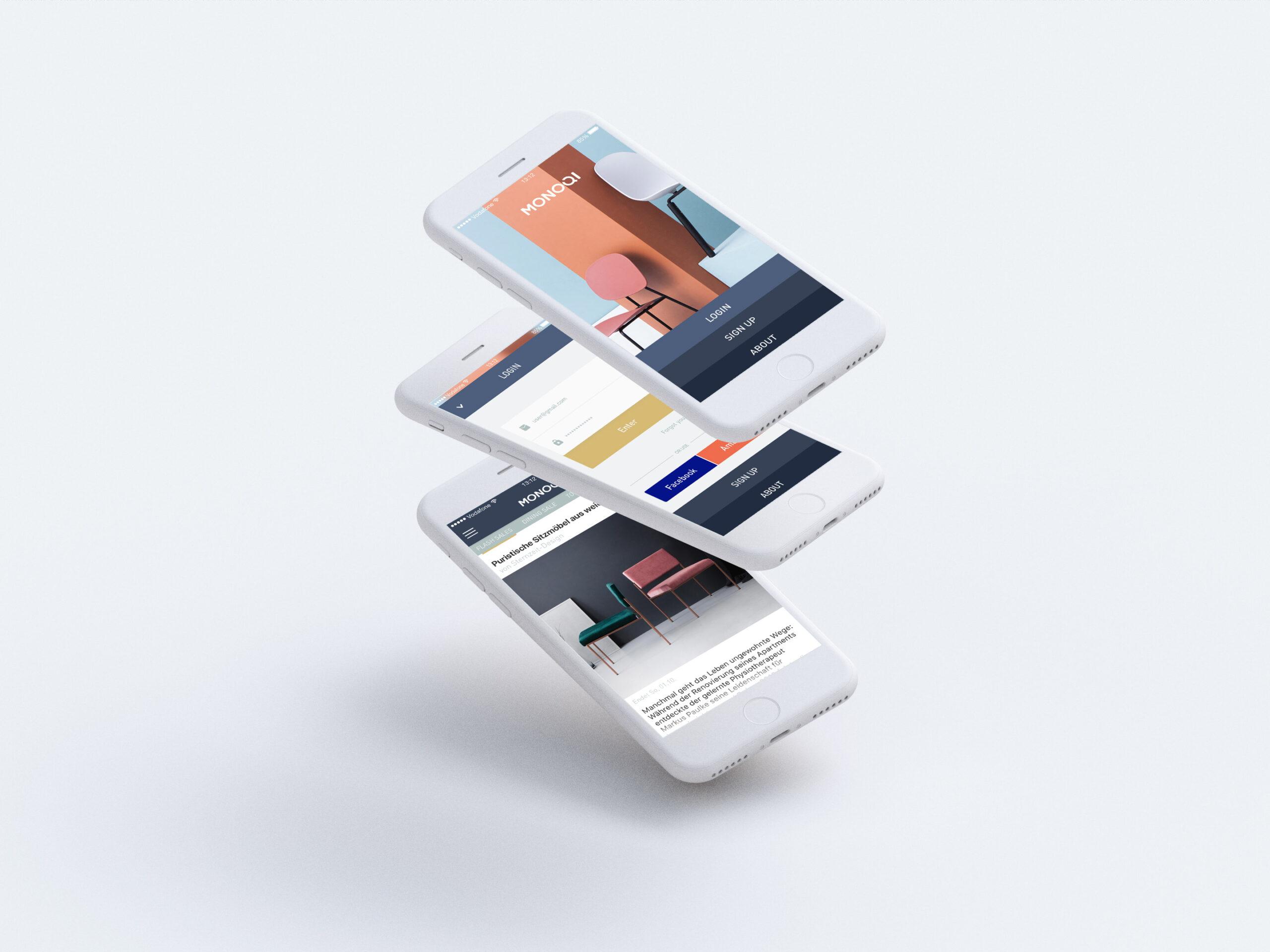 Monoqi iOS App Cover Image